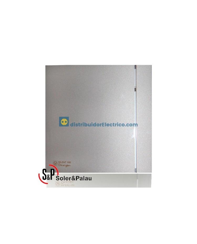 Extractores para Baño S&P SILENT-200 CHZ SILVER DESIGN-3C ...