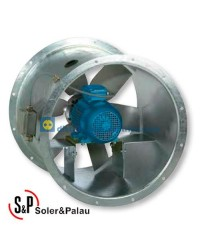 Ventilador Helicoidal Tubular TGT/2-630-6/-7,5 Código Camisa larga Soler&Palau