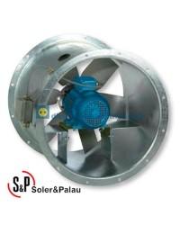 Ventilador Helicoidal Tubular TGT/2-630-6/-9,2 Código Camisa larga Soler&Palau