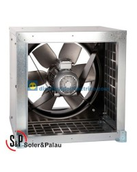 Ventilador Helicoidal Tubular CHGT/4-800-3/-1,5 Código 300ºC/2h Soler&Palau