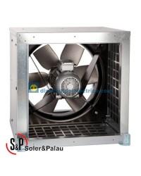 Ventilador Helicoidal Tubular CHGT/4/8-450-6/-0,55/0,09 Código 300ºC/2h Soler&Palau