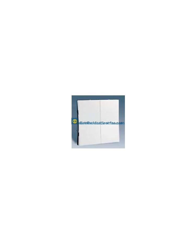 28026-30 Tecla grupo 2 int o conmutadores Blanco 10 AX 250V