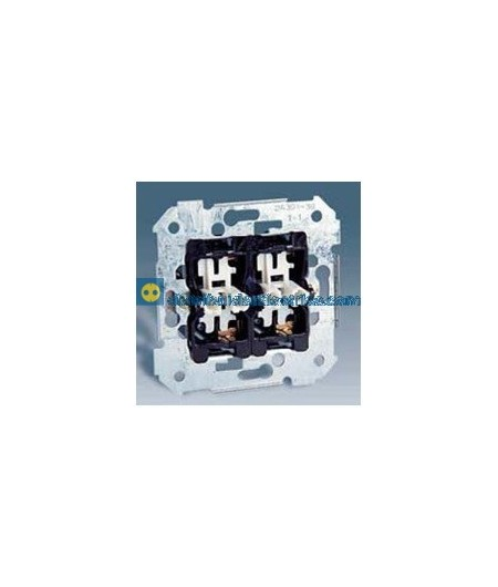 26398-39 Grupo 2 interruptores 10 AX 250V