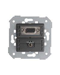 Simon 7500091-039 Conector Vga Hd15 Hembra + Mini-Jack