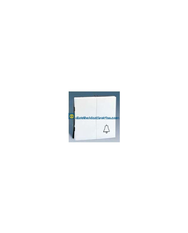 28027-30 Tecla grupo 1 interr. + 1 pulsador Blanco 10 AX 250V