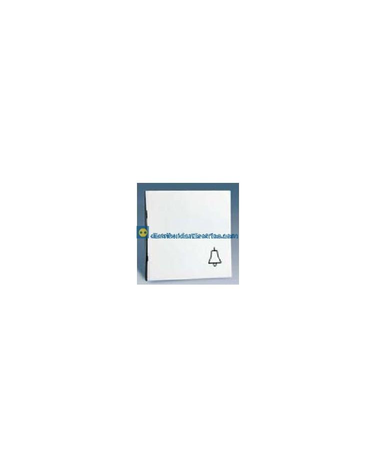 28017-30 Tecla campana pulsador Blanco 10 AX 250V