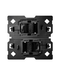 Simon 10002544-039 Adaptador Con 2 Conectores Rj45 Cat6 2M