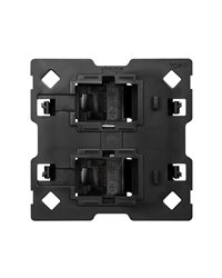 Simon 10000002-039 Adaptador Para 2 Conectores Rj45 2M