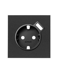 Simon 10000049-238 Tapa para base schuko con cargador USB