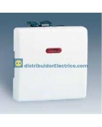 27102-62 - Interruptor unipolar con piloto incorporado 10 AX 250 V color marfil