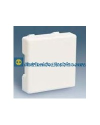 27800-35 Placa ciega neutra color blanco
