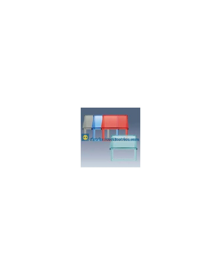 2700679-112 Pieza intermedia con tapa articulada - Gris translúcido