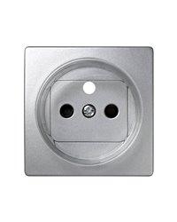 Simon 73068-63 Tapa Francesa Con Obturador (Aluminio)