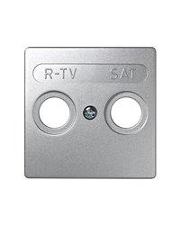 Simon 73097-63 Tapa R-Tv-Sat (Aluminio)