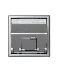 Simon 73593-63 Soporte Para Conectores Avaya (Aluminio)
