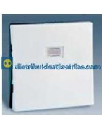 28011-30 Tecla Interr. o conmutador, con luminoso Blanco 10 AX 250V