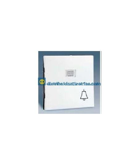 28015-30 Tecla campana pulsador con luminoso Blanco 10 AX 250V