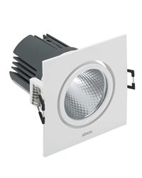 Simon 70324330-284 Downlight 703.24 Orientable Cuadrado NW Spot DALI Blanco