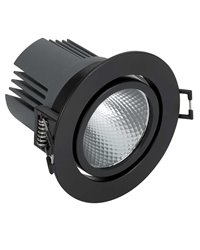 Simon 70323338-282 Downlight 703.23 Orientable Redondo 2700K Spot DALI Negro