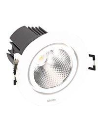 Simon 70323030-284 Downlight 703.23 Orientable Redondo NW Spot Blanco
