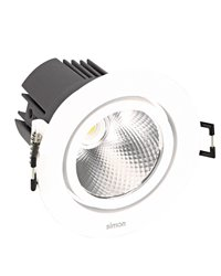 Simon 70323330-282 Downlight 703.23 Orientable Redondo 2700K Spot DALI Blanco