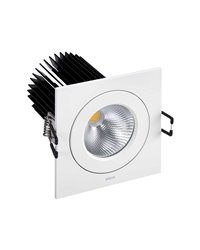 Simon 70524033-484 Downlight 705.24 Square NW Wide Flood
