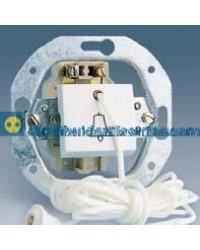 32652-35 Pulsador de tirador campana 10 AX 250 V Blanco