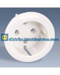 32041-31 Tapa enchufe 2 P + TT Schuko Blanco