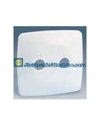 32053-31 Placa toma R-TV Color Blanco