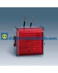 32804-35 Señalizador luminoso con difusor rojo