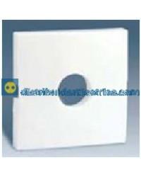 28057-30 Tapa mec. con llave o toma altavoz mono Blanca
