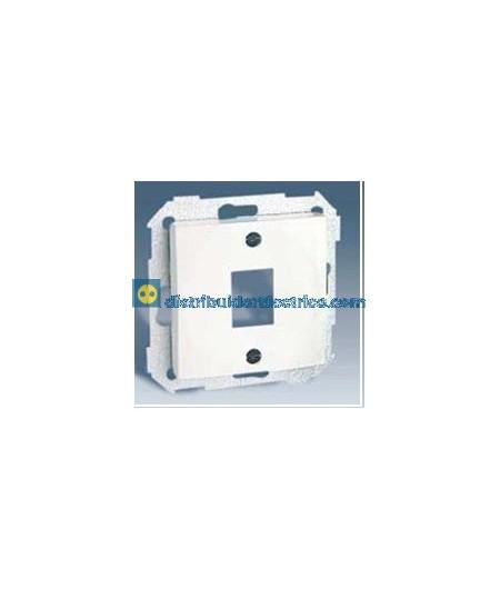 28085-30 Adaptador 1 conector RJ-45 AMP Blanco