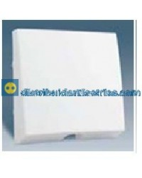 28051-30 Tapa salida cables Blanca