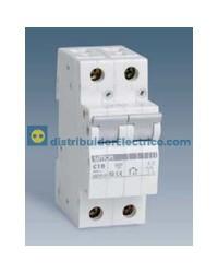 68506-31 - Interruptor automático magnetotérmico 6 KA 6A, Polos 1+N, tecla gris.