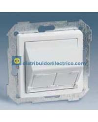 82579-31 Adaptador universal 2 conectores marfil