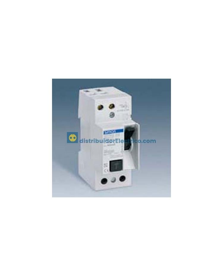 78216-35 - Interruptor diferencial clase AC, sensibilidad 10, tecla negra, 230V. 10A.