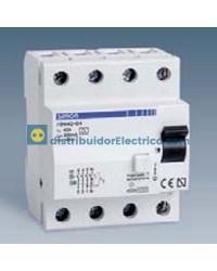 78280-63 - Interruptor diferencial clase AC, sensibilidad 300, tecla negra, 230V. 83A.