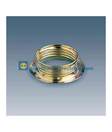 10613-31 - Arandela de acero latonado, para pantallas, E-14