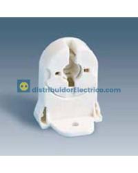 55566-31 - Portalámparas para fluorescentes G-13, 2A 250V. termoplástico PC, fijación por tornillos.