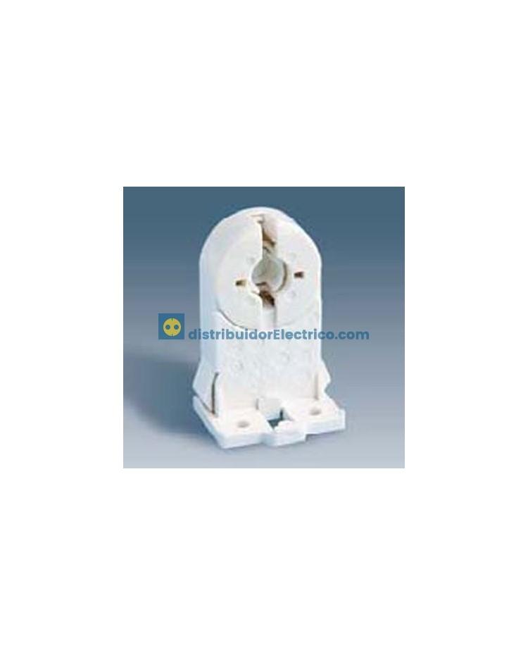 55509-31 - Portalámparas para fluorescentes G-13, 2A 250V.  termoplástico PC, fijación rápida.