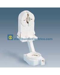 55510-31 - Portalámparas para fluorescentes G-13, 2A 250V.  termoplástico PC, con portacebador.