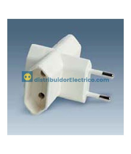 00106-31 - Clavijas de enchufe 10A 250V. Adaptador multivia 3 derivaciones, 2300W