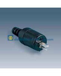 10490-31 - Conector macho para tomas de altavoz s/DIN 41529.