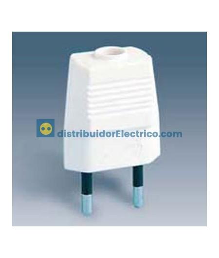 00160-31 - Clavijas de enchufe 10A 250V. Bipolar, termoplástico.