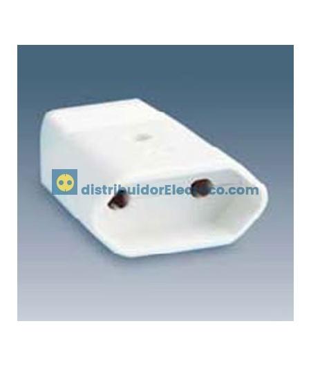 00165-31 - Bases de enchufe 16A 250V. para prolongador bipo con dispositivo de seguridad.lar.