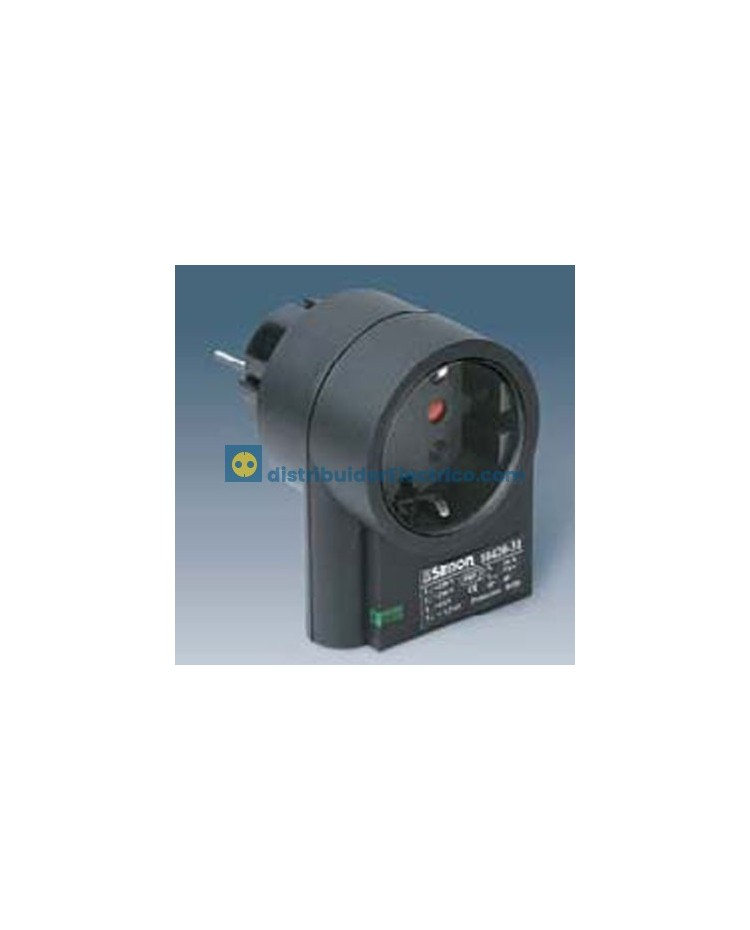 10420-31 - Protector enchufable contra sobretensiones, con indicador luminoso de funcionamiento.
