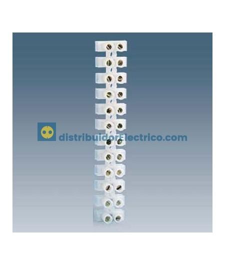 10827-31 - Regleta de conexión flexible, poliamida, 12 elementos, sección 2,5 a 6mm2, máx. 10mm2