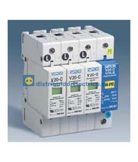 68846-31 Protector de sobretensiones tripolar+neutro