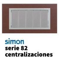 Serie Simon 82 Centralizaciones