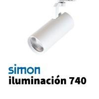 Simon 740 iluminación